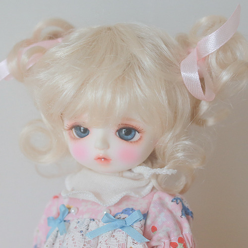 "[6-7""] Candy twin tails (Blond)"
