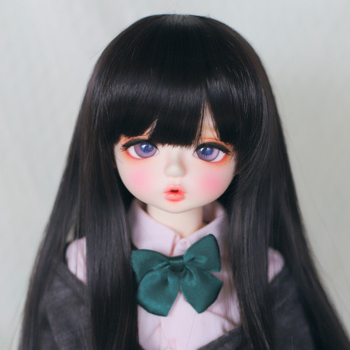 "[8-9""] Milktea (Natural Black)"