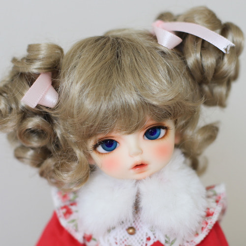 "[6-7""] Candy twin tails (Ash Blond)"