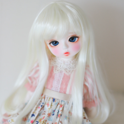 "[6-7""] Iris curl (Pale blond)"