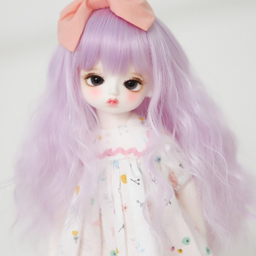 "[6-7""] Sherbet curl (Light Purple)"