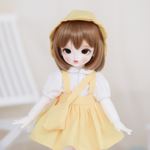 [Bebe] Kindergarten Uniform skirt (Yellow)