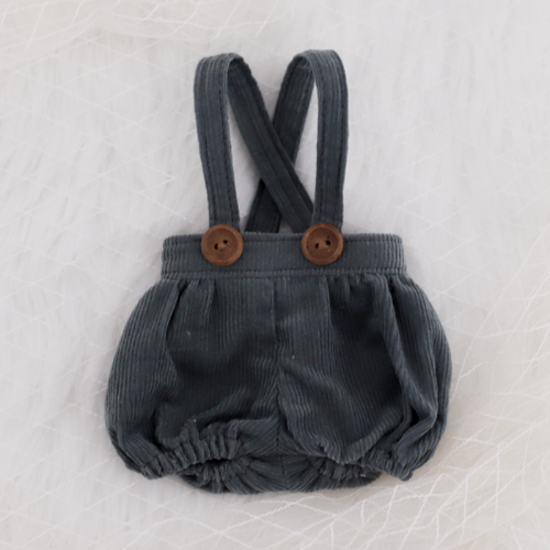 [Bebe] Corduroy bloomer (Green Gray)