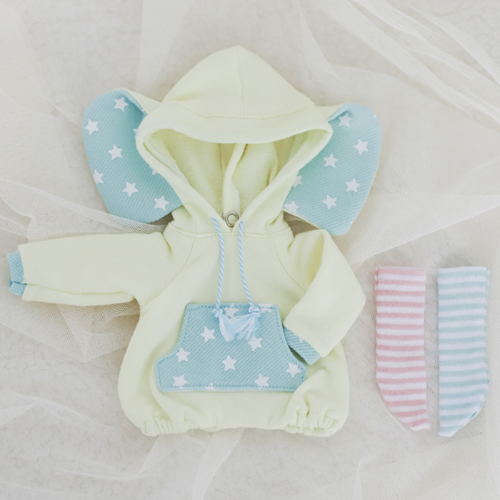 [Bebe] Elephant Rompers (Lemon)