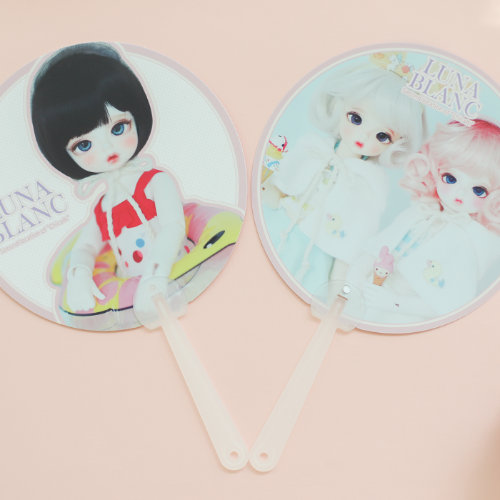 Chicabi Goods 011 2020 Lunablanc fan (2pcs)