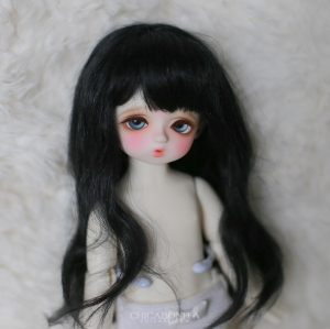 [Bebe] Long Mohair (Black)