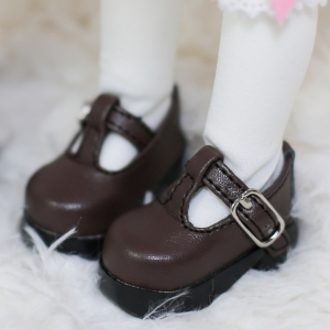 [Bebe/幼SD] T-strap Maryjane (brown)