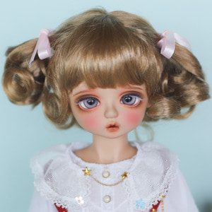 "[8-9""] Candy twintails (Latte Brown)"