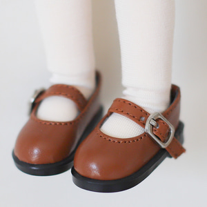 [Bebe/幼SD] Basic Maryjane (light brown)
