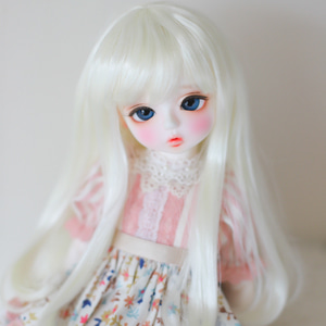 "[8-9""] Iris curl (Pale blond)"