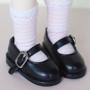 [Bebe/幼SD] Basic Maryjane (black)