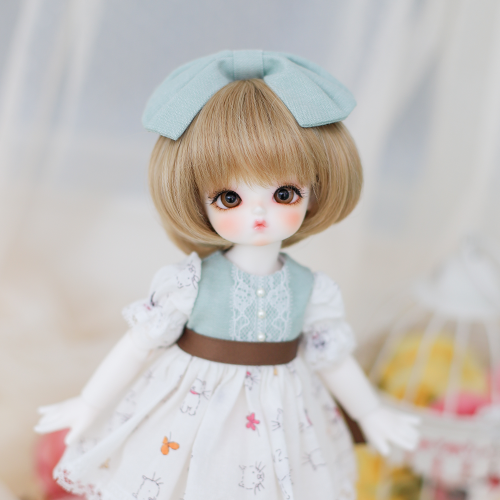 [Bebe] Fluffy Dress (Mint)