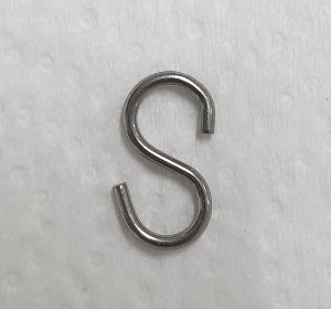 "S-hook for 6-7"" Head"