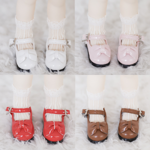 [Bebe/幼SD] Ribbon Maryjane 5 color