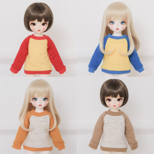 [Bebe] Raglan Sweat Shirt 4 Color