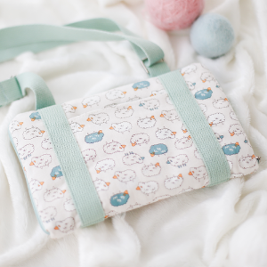 [Chibi/Pocket] BJD Cross Carrier BagCute lamb(Mint)