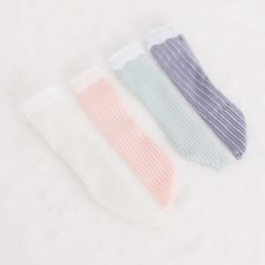 [Enfant/MSD] Stripe Lace Stocking