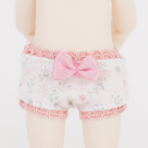 [Chibi/Pocket] Pink Flower Panties