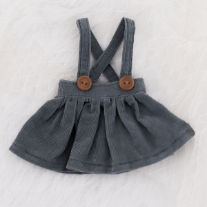 [Bebe] Corduroy Skirt (Green Gray)