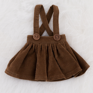 [Bebe] Corduroy Skirt (Brown)