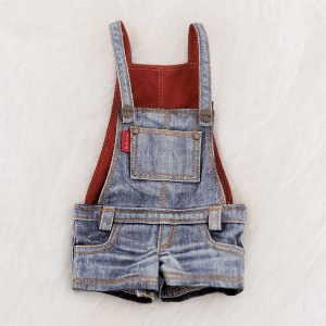 [Enfant] Washing Overall Pants (Blue)