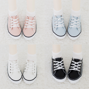 [Honey/SD] Leather Sneakers 4 Color