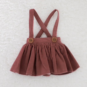 [Enfant] Corduroy Skirt (Wine)