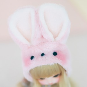 [USD/MSD] Rabbit Hat (Pink)