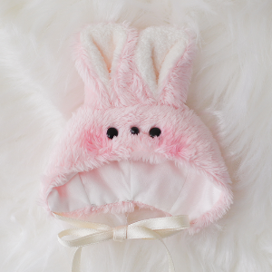 [Chibi/Pocket] Rabbit Hat (Pink)