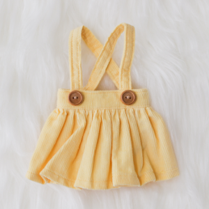 [Bebe] Corduroy Skirt (Lemon)