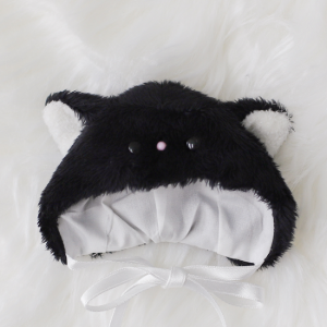 [Chibi/Pocket] Cat Hat (Black)