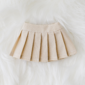 [Bebe] Tennis Skirt (Beige)