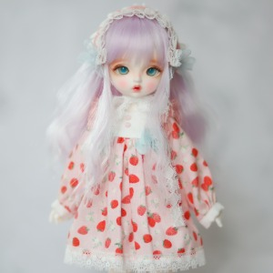 [Bebe] Macaron Dress (Strawberry)
