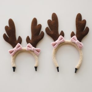 [Bebe/Enfant] Cream Bambi Hairband