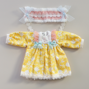 [Bebe] Macaron Dress (Lemon)