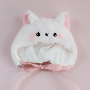 [Chibi/Pocket] Cat Hat (Baby Pink)
